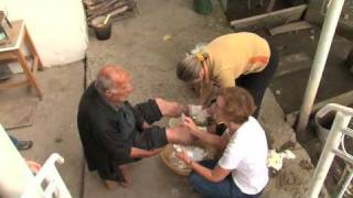 South Ossetia: bringing medical care to the elderly