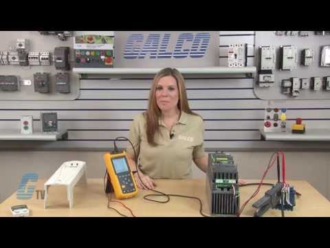 How to Wire the MTE RL Series Three-Phase Line Reactor to a Variable Frequency Drive