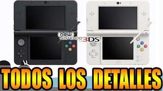 BOMBAZO DEL VERANO || New Nintendo 3DS, nuevo rediseño para la portátil