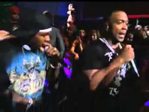 Justin   50 cent   Timbaland   Ayo Technology   Live VMA 07!