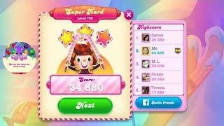 Candy Crush Soda Saga Level 700   |   Super Hard Level   |   2-Star ⭐⭐