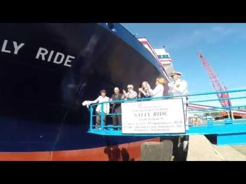 RV Sally Ride Christening