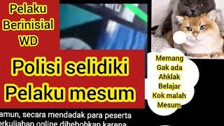 Viral Video 'mahasiswa Mesum Saat Kuliah Online' Polisi Masih Selidiki.