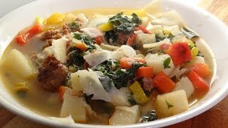 Kale And Sweet Pepper Soup Recipe - Family Dinner Time