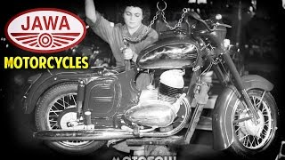 Jawa Motorcycles - Factory Vintage Video