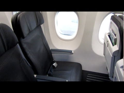 Alaska Airlines 737 Economy Class, Seattle to Palm Springs February ...