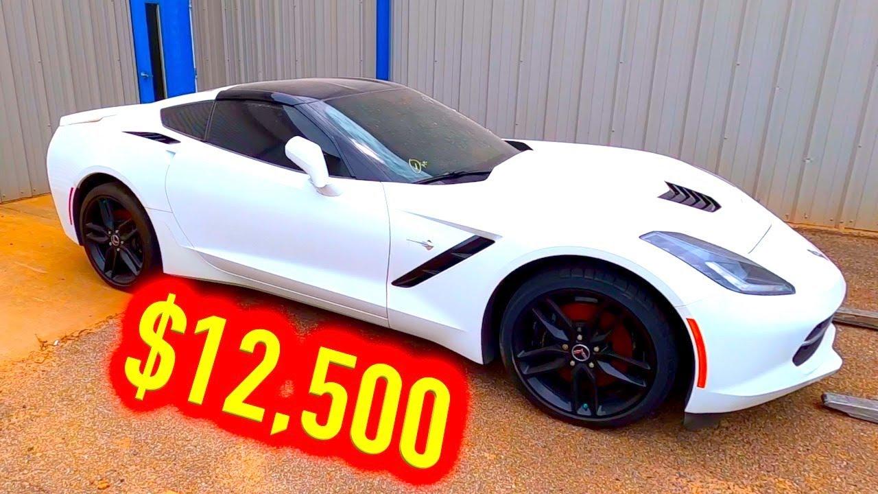 Copart Walk Around 8-1-2020 + 2014 Chevy Corvette $12500!!
