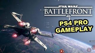 REBEL SHIPS - Star Wars Battlefront IIGameplay (PS4 Pro - 1080p 60fps) Space Battle