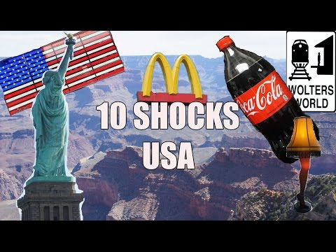 Visit USA – 10 Things That Will SHOCK You About America