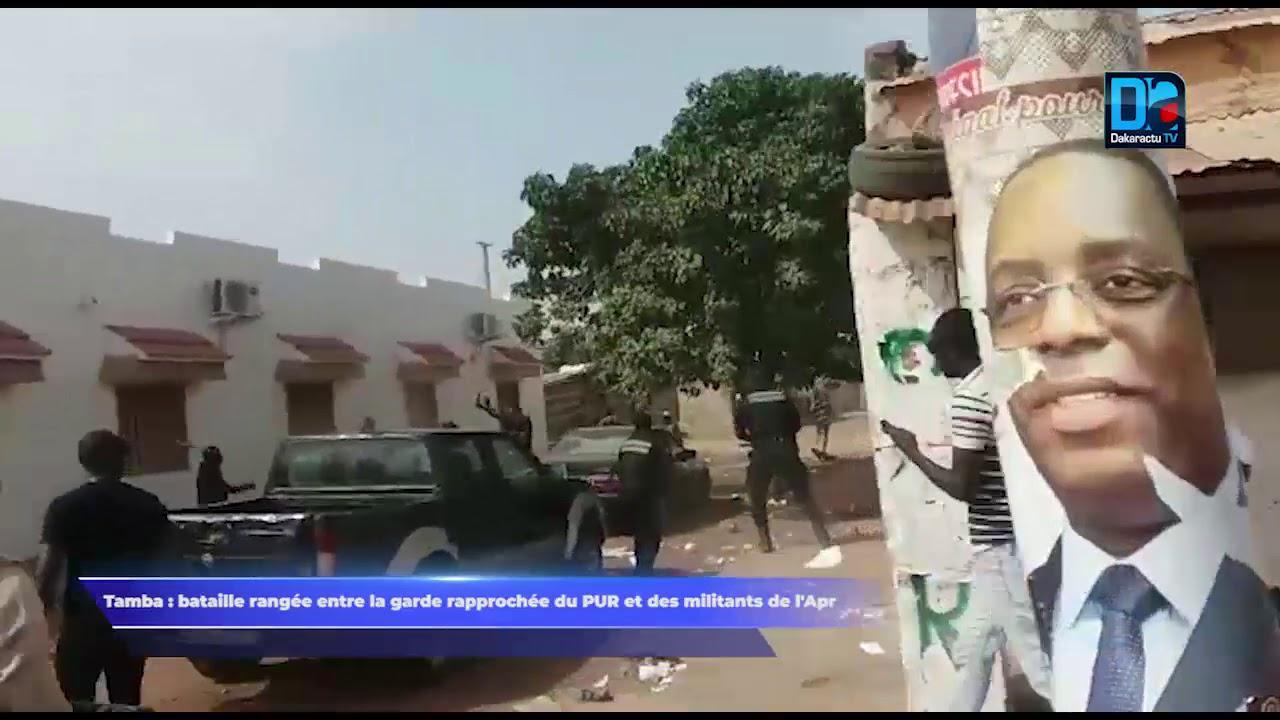 Tambacounda - Bataille rangée entre La garde rapprochée du PUR et des militants de l'APR