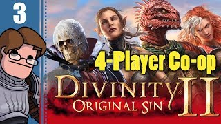 Let's Play Divinity: Original Sin 2 Four Player Co-op Part 3 - Shipwrecked