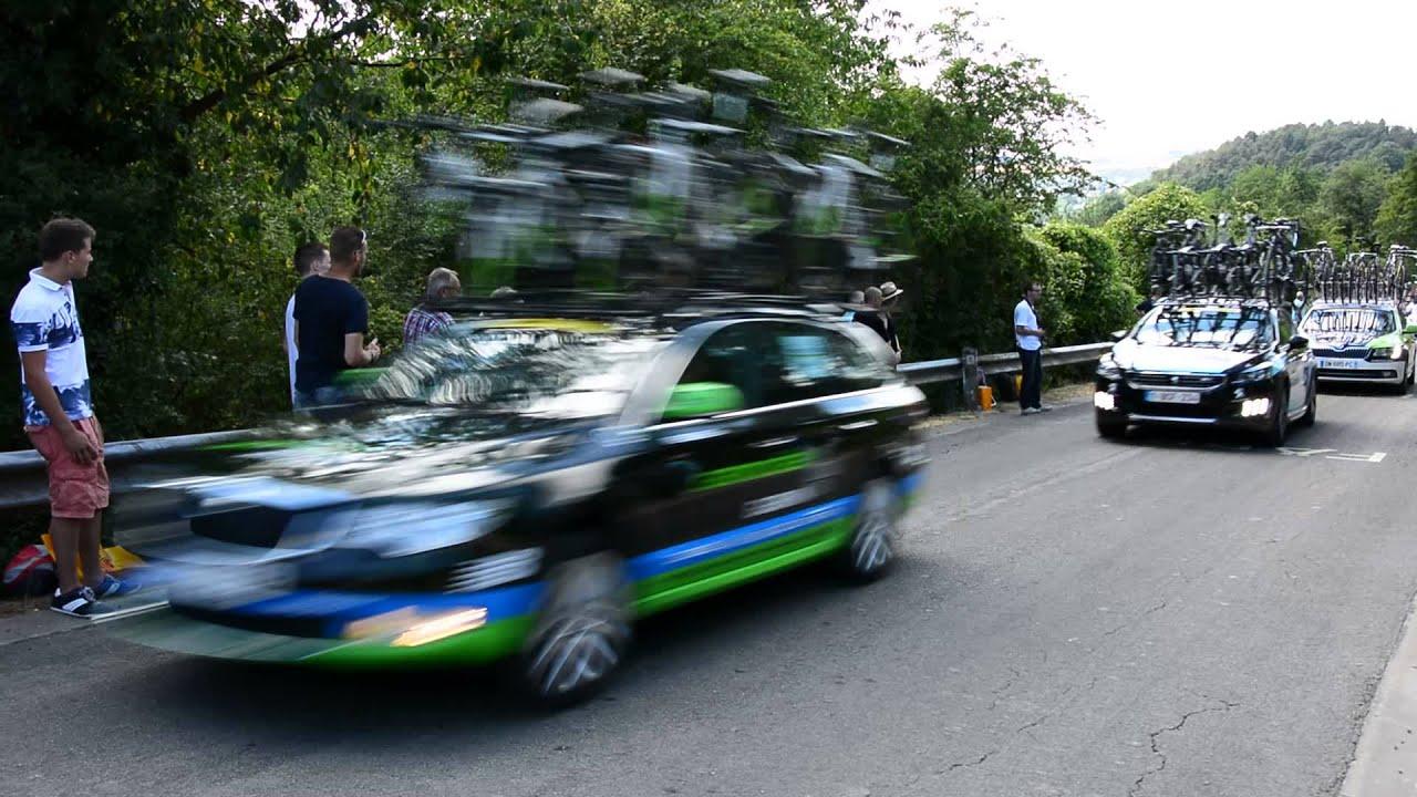 Tour De France: Côte de Bohissau