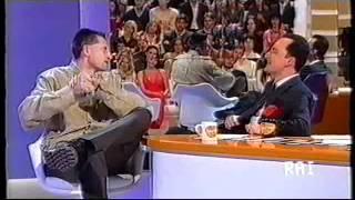 Daniele Luttazzi intervista Andrea Lucchetta (Satyricon 2001)