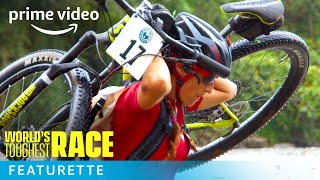 World's Toughest Race Extreme Biking Scenes | Prime Video