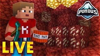 SØNDAGSHYGGE PÅ PONDUS!   Pondus SMP *LIVE* Minecraft