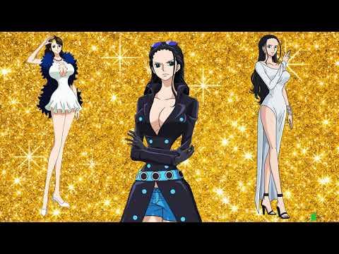 Nico Robin Evolution  (One Piece Character ) 2018-1997