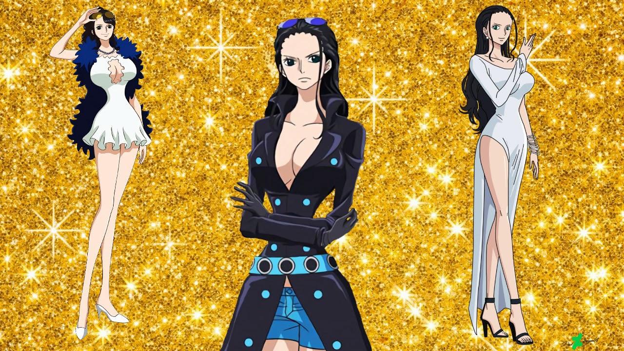 Nico Robin Evolution (One Piece Character ) 2018-1997 ...