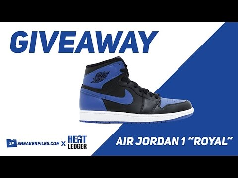 free jordan giveaway giveaway air jordan 1 royal 2017 youtube 3819