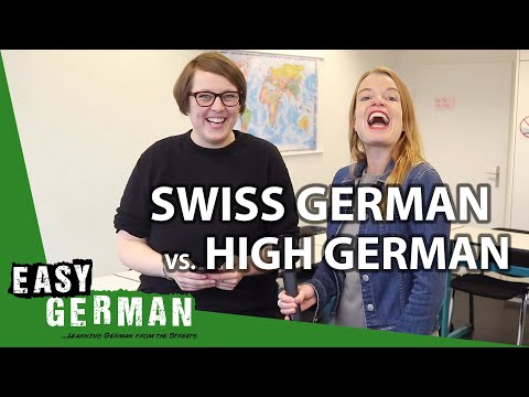 How similar are Swiss German and High German?