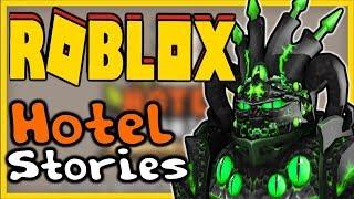 ALIENS FOUND in ROBLOX | HOTEL STORIES