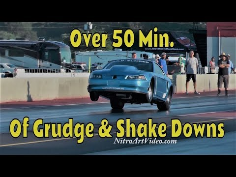 Darlington Dragway Heads Up Drag Racing & Grudge Racing (NT) No Time Action