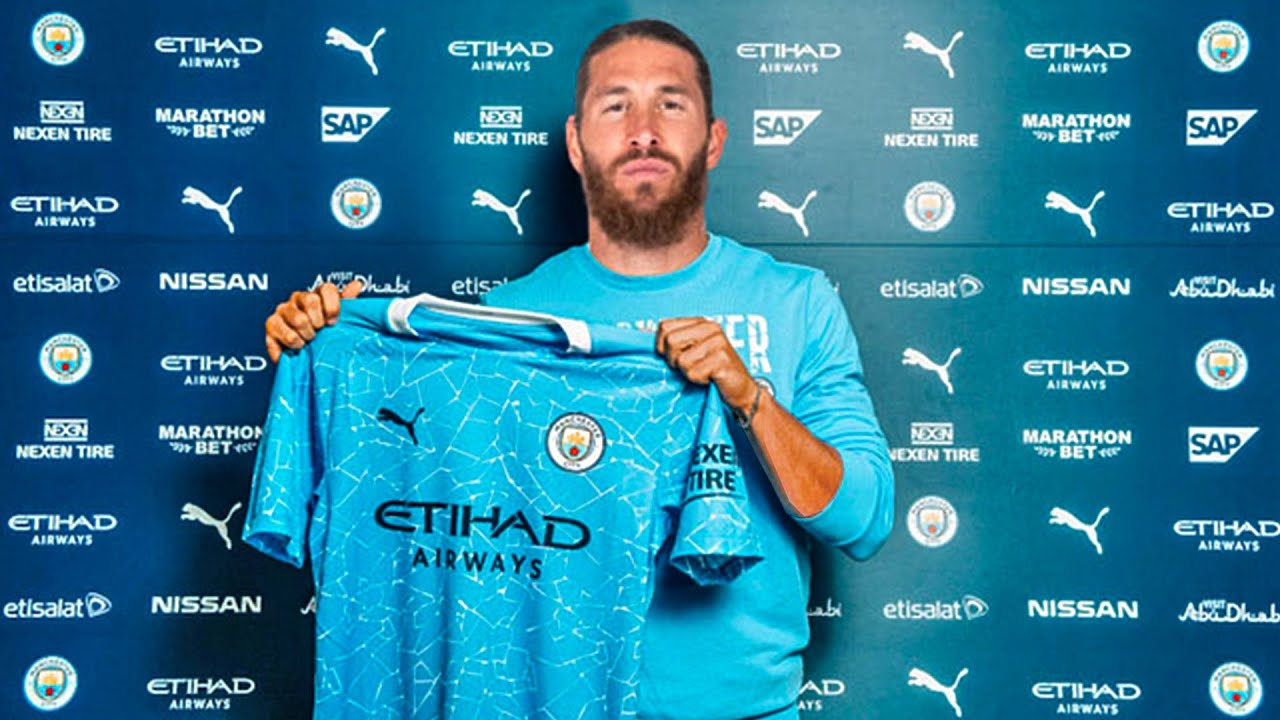 Image result for sergio ramos manchester city kit