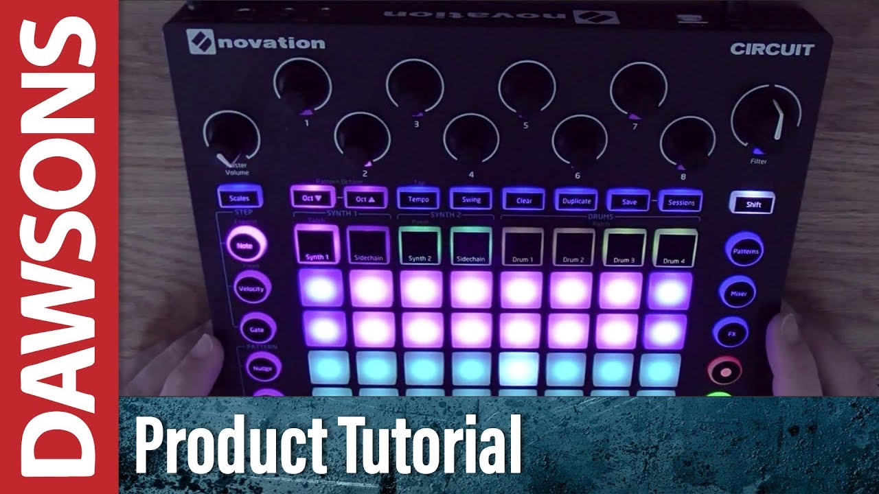 Novation Circuit Groove Box Tutorial Part 4: Synths