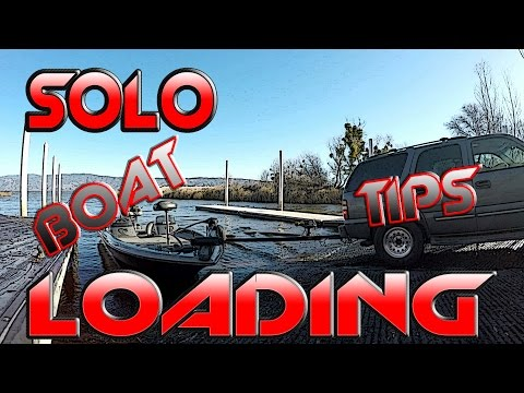How to Trailer Your Boat Without Help