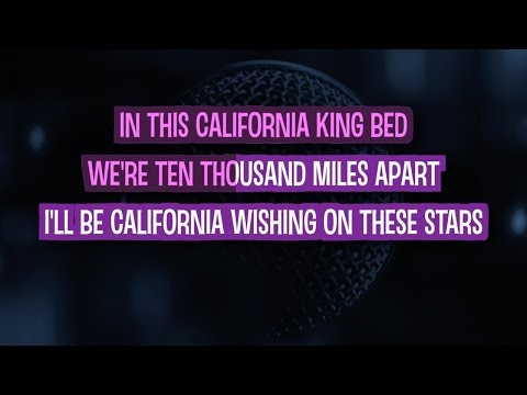 California King Bed Karaoke Version by Rihanna (Video with Lyrics)