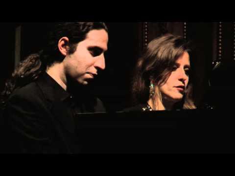Grieg: Norwegian Dance Op. 35 No. 2 - Giorgia Tomassi & Alessandro Stella, piano 4 hands
