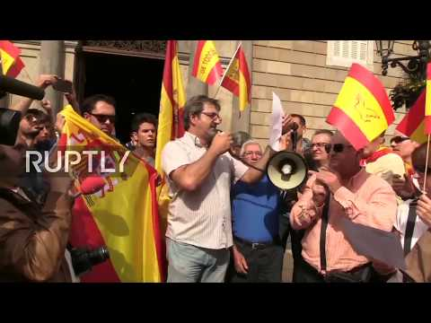 LIVE: Rally against Catalan referendum hits Barcelona