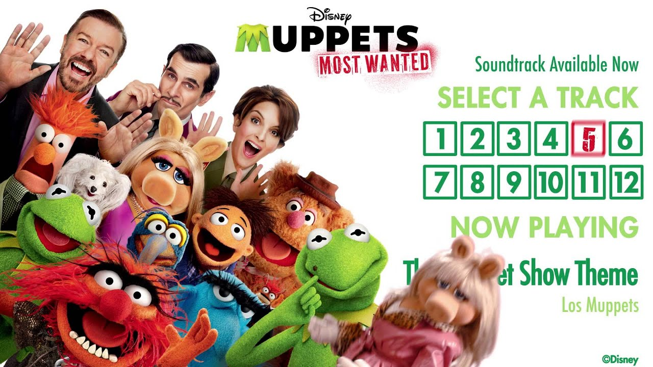 muppets most wanted soundtrack official album sampler