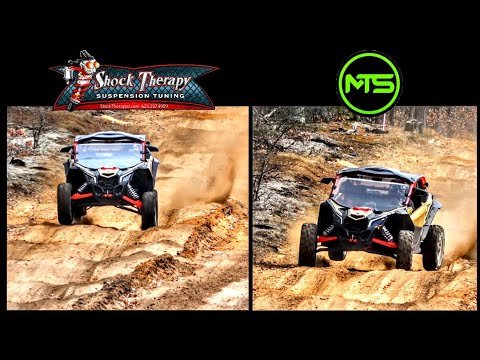 Battle of the UTV Suspension Tunes! Shock Therapy vs MTS Off Road