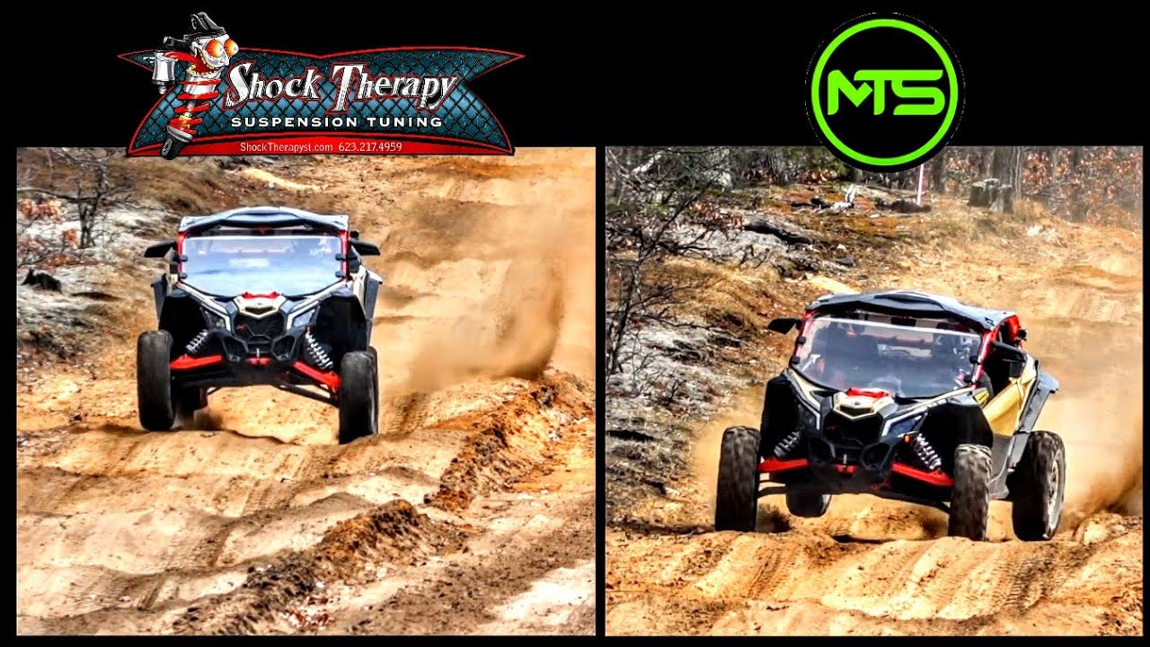 Battle of the UTV Suspension Tunes! Shock Therapy vs MTS Off Road!