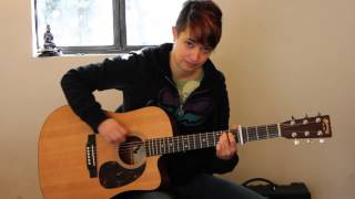 "How to play ""Michigan"" by The Milk Carton Kids on guitar - Jen Trani"