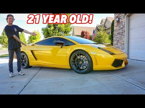 Buying My First Lamborghini At Age 21!