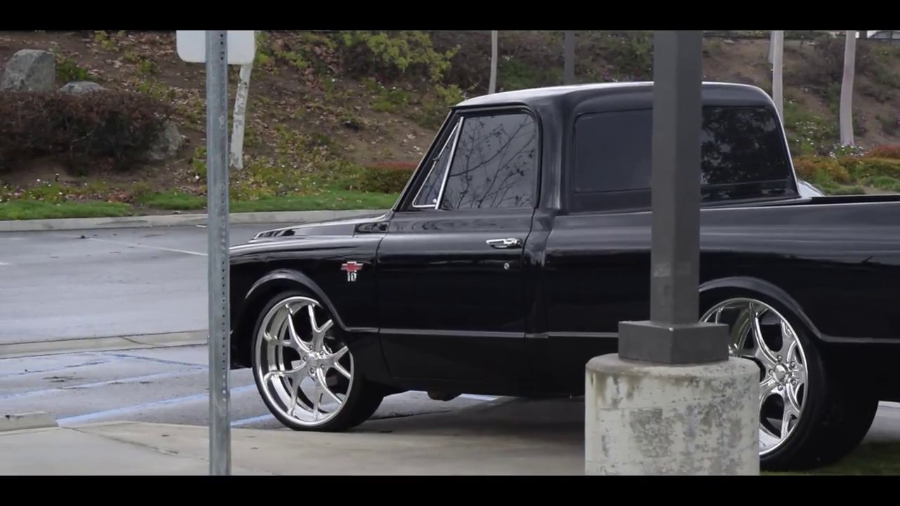 C10 On 24x15 Specialty Forged Wheels Youtube