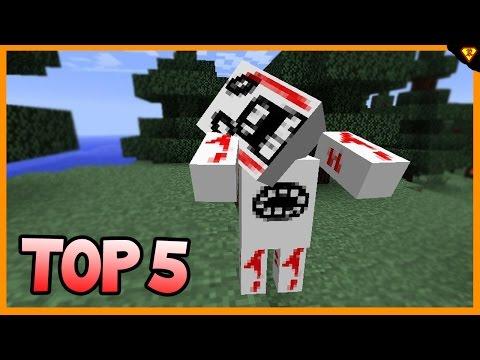 Top 5 Způsobů jak vystrašit kamaráda v Minecraft cz/sk