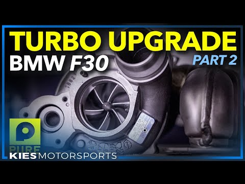 How to Install a Pure Stage 2 Turbo | F30 BMW 335i xDrive N55 | Stock Turbo Removal #N55Purestage2