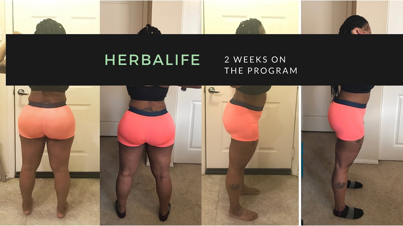 Herbalife Before And After 2 Weeks Results Using Herbalife