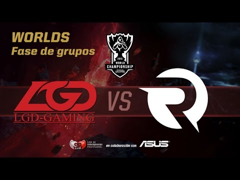 Origen vs LGD - Worlds Día 2 Grupos - Mundiales League of Legends 2015 en Español