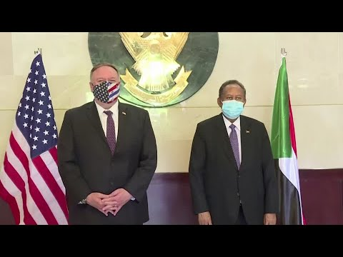 Sudan PM And Pompeo Talk Israel And Removal From Terror List