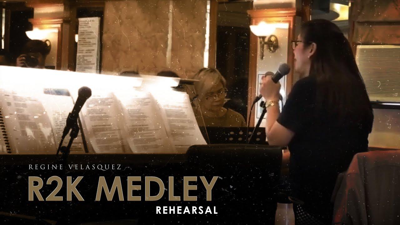 [REHEARSAL] - R2K Medley | REGINE VELASQUEZ (Unified Concert)