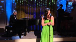 "Idina Menzel & Marvin Hamlisch perform ""What I Did For Love"""