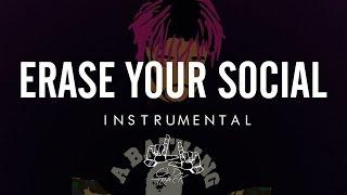 Lil Uzi Vert Erase Your Social [Official Instrumental] (Re Prod. By LJOnDaTrack)