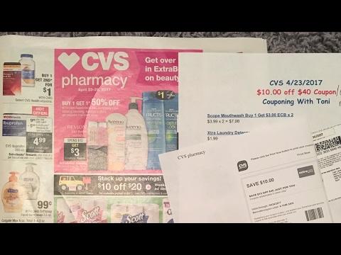 CVS 4/23/17 Breakdowns | Using $10 off $40 CVS Coupon