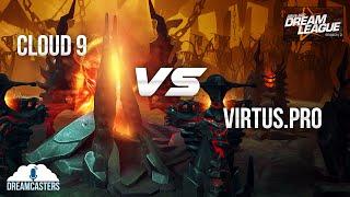 DL SS2 Loser Finals  Cloud 9 -VS- Virtus.Pro BO5 - TH LANGUAGE