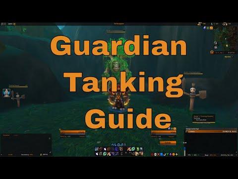 Guardian Druid Tanking guide (Legion 7.2.0)