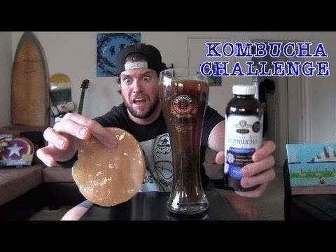 The Extreme Kombucha Challenge (Warning: Complete 30 Day Colon Cleanse in 2 Hours or Less)
