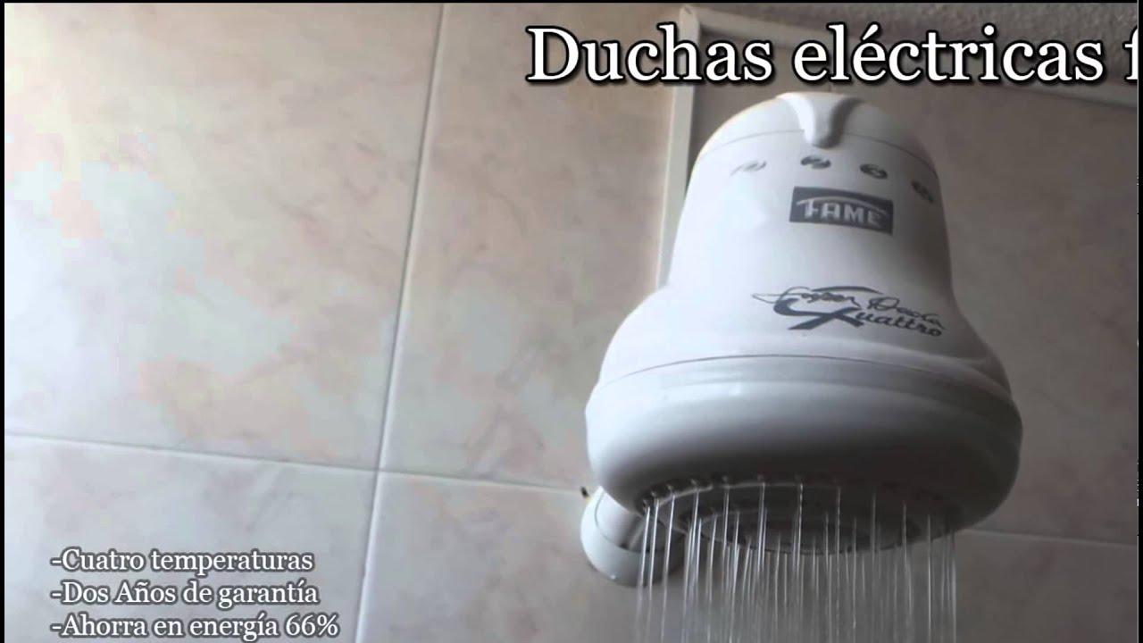 Duchas el ctricas fame 6185261 300 2915533 315 6366544 for Como conectar una ducha electrica